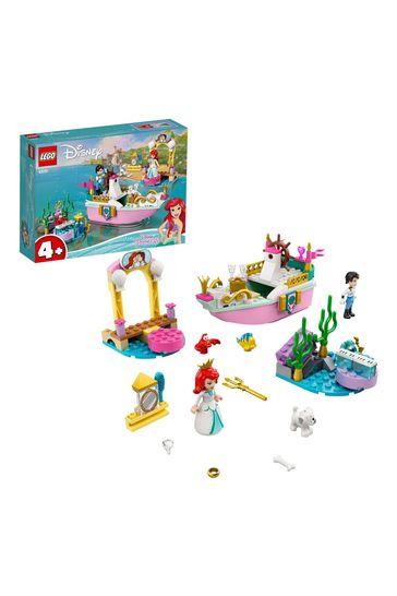 LEGO 43191 Disney Princess Ariel's Celebration Boat Toy