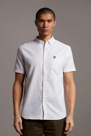 Lyle & Scott Plus Size Oxford Short Sleeve Shirt