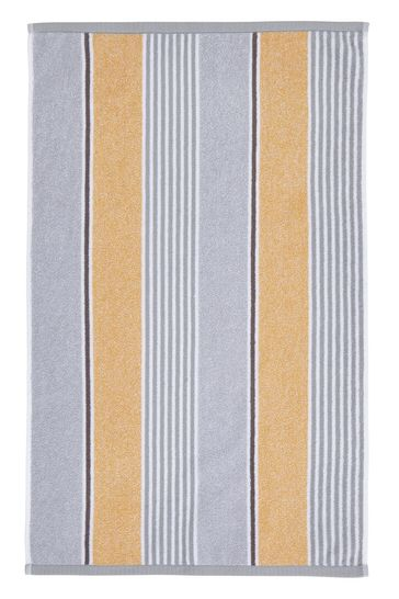 Textured Stripe Towel by Catherine Lansfield