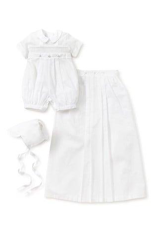Kissy Kissy White Phillip Short Sleeve Converter Gown Set