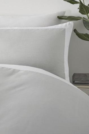 Serene Yellow Madison Duvet Cover and Pillowcase Set