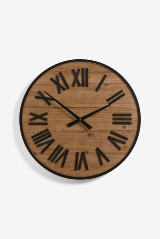 Small Bronx Wall Clock
