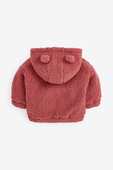 Pink Fleece Hoodie (3mths-7yrs)