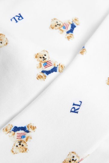 Ralph Lauren Blue Bears Hat