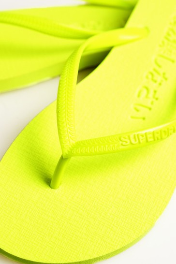 Superdry Super Sleek Fluro Flip Flops