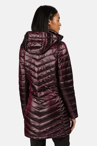 Regatta Purple Andel II Longline Baffle Jacket
