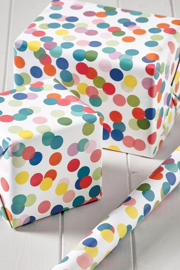6M Polka Dot Wrapping Paper