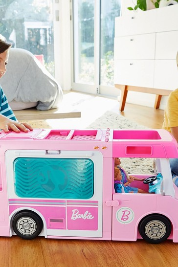 Barbie 3-in-1 Dream Camper Vehicle & Accessories