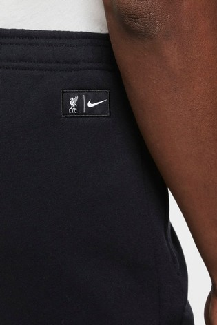 Nike Black Liverpool Fleece Joggers