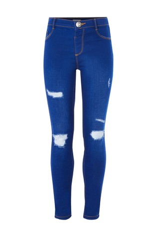 River Island Blue Destiny New Buzzy Molly Jeans