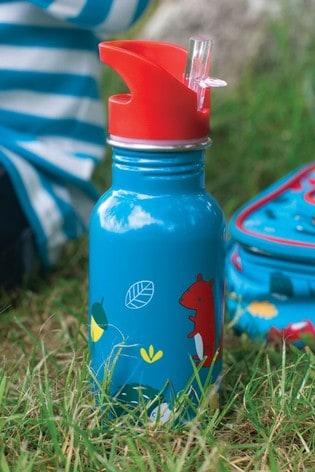 Frugi National Trust Pine Woodland Wander Steel Water Bottle