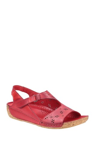 Riva Red Barcelona Summer Sandals