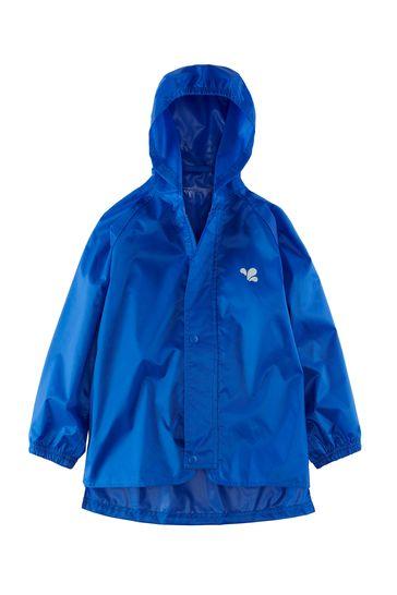 Muddy Puddles Blue Originals Waterproof Hooded Jacket