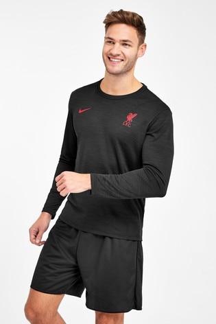 Nike Black Liverpool Superset Top