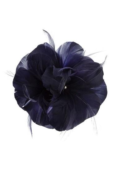 Accessorize Blue Abigail Flower Clip