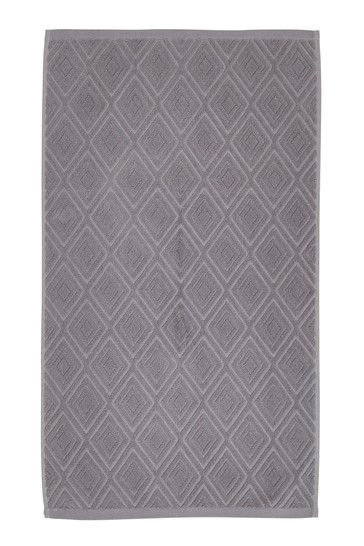 Diamond Sculpture Towel by Catherine Lansfield