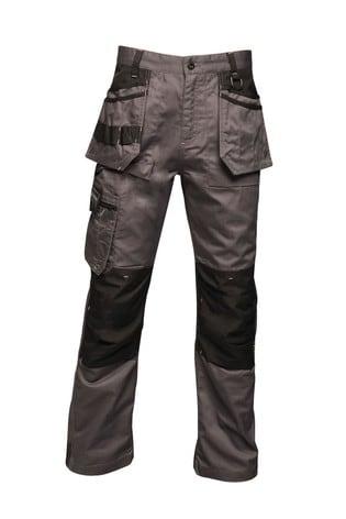 Regatta Grey Incursion Holster Workwear Trousers
