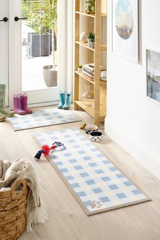 Howler & Scratch Check Washable Runner