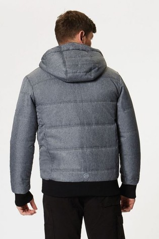 Regatta Grey Thrust Insulated Bomber Jacket
