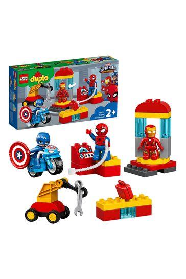 LEGO 10921 DUPLO Marvel Super Heroes Lab Set With Spider-Man