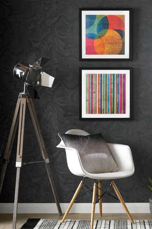 Neon Circle Wall Art by Art For The Home