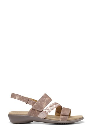 Hotter Ripple Touch Fastening Open Sandals