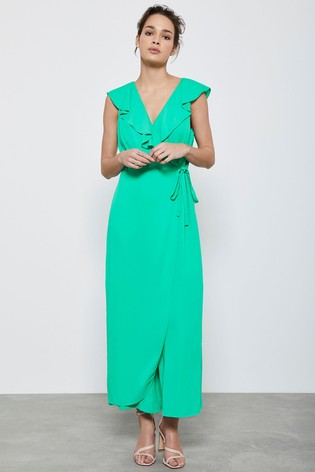 Mint Velvet Natural Wrap Detail Jumpsuit
