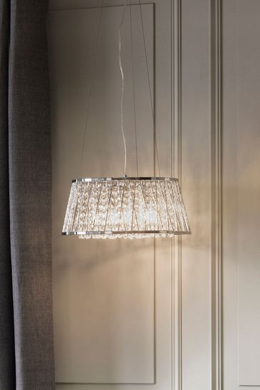 Gallery Direct Silver Sophie 5 Light Pendant