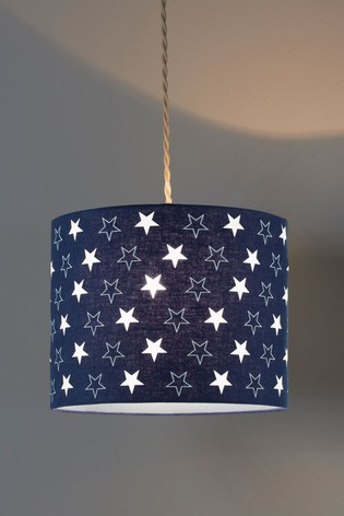 Village At Home Blue Starry Night Pendant Shade