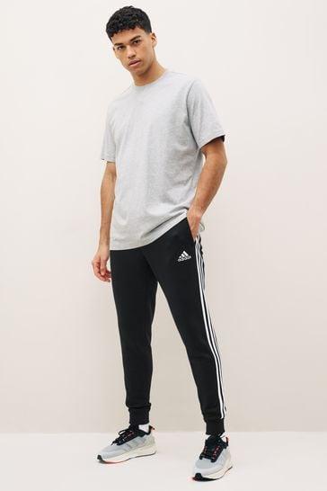 adidas 3 Stripe Fleece Joggers