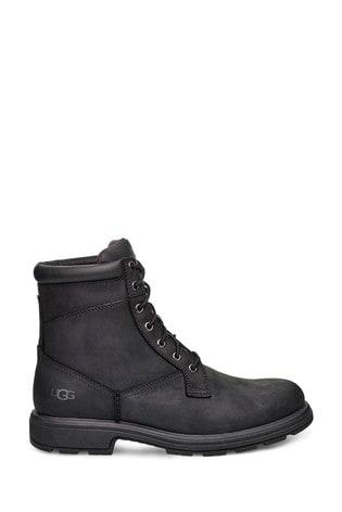 UGG® Black Biltmore Lace Up Work Boots