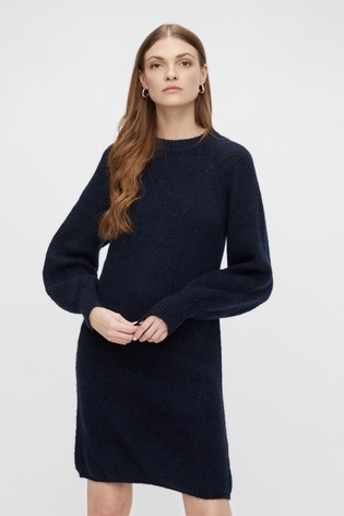 Y.A.S Puff Sleeve Jumper Dress