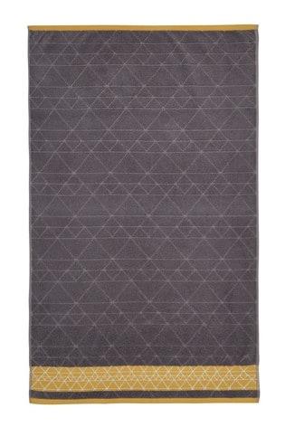 Linear Diamond Towel by Catherine Lansfield