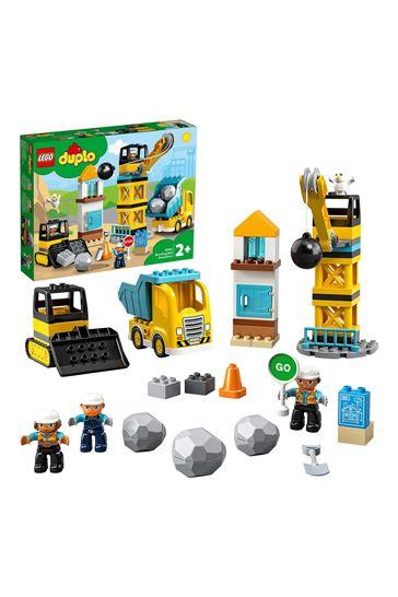 LEGO 10932 DUPLO Wrecking Ball Demolition Construction Set