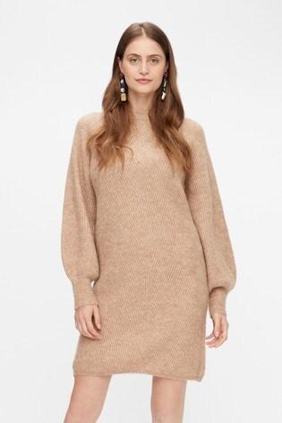 Y.A.S Puff Sleeve Jumper Dress