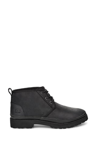 UGG® Black Neuland Lace-Up Casual Boots