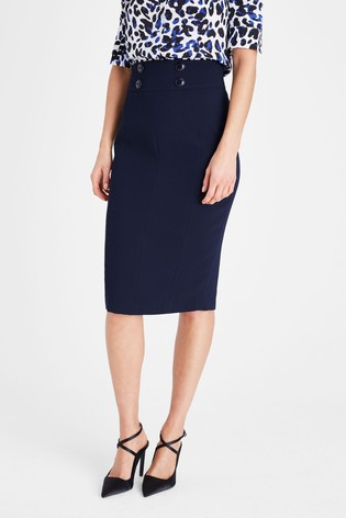 Damsel In A Dress Blue Nina City Suit Skirt