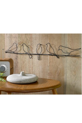 Birds On A Wire Wall Art by Art For The Home