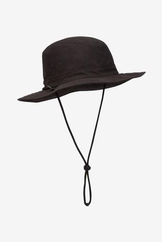 Black Safari Hat
