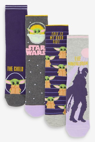 Mandalorian Ankle Socks 4 Pack
