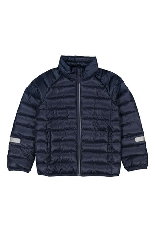 Polarn O. Pyret Blue Water Repellent Recycled Polyester Padded Jacket