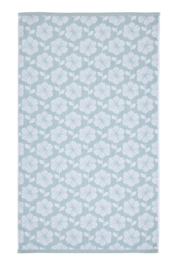Retro Floral Towel by Catherine Lansfield