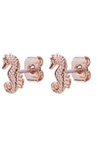 Ted Baker Seala Seahorse Nano Stud Earrings
