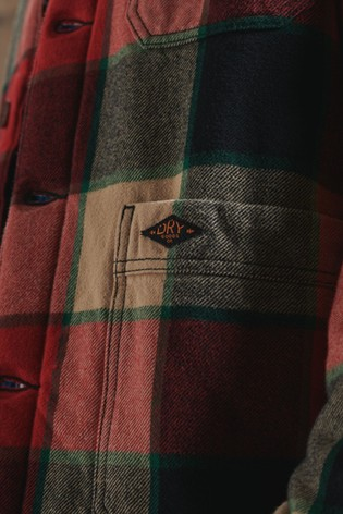 Superdry Utility Check Overshirt