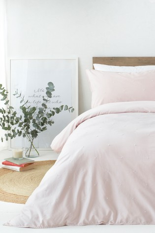 Strand Washed Cotton Duvet Cover and Pillowcase Set by Riva Home