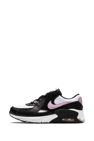 Nike Black/Pink Excee Junior Trainers
