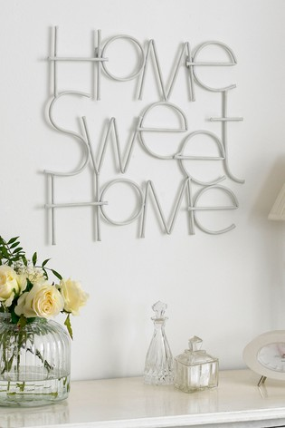 Sweet Home Wall Art by Art For The Home