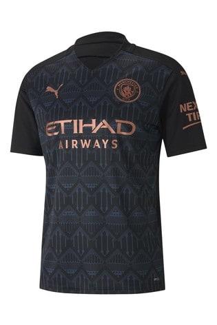 Puma Manchester City Away Short Sleeve Jersey