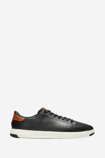 Cole Haan Black Grandpro Tennis Lace-Up Trainers