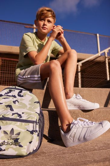 adidas Originals Leather Gazelle Youth Trainers